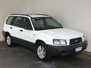 2004 Subaru Forester 79V MY04 X AWD White 5 Speed Manual Wagon Mount Gambier Grant Area Preview