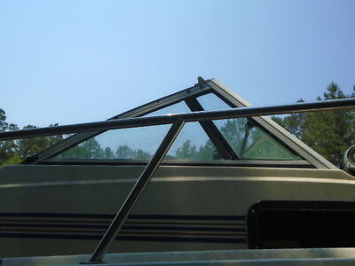 Chris Craft Sea Hawk 22 Starboard SIDE Windshield, THIS SINGLE PIECE ONLY