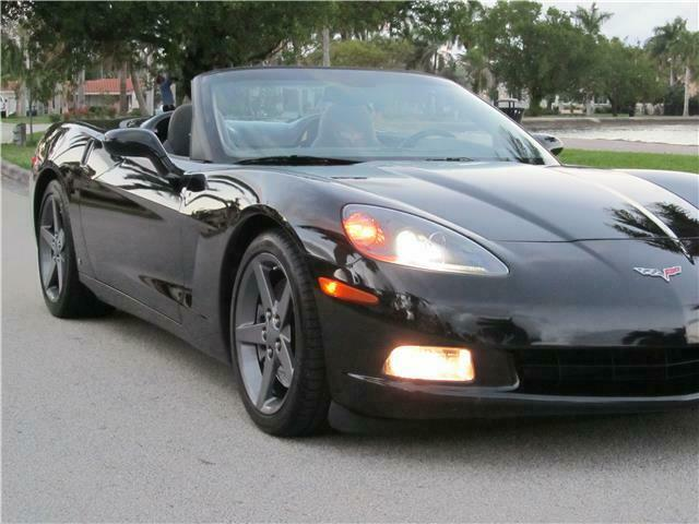 2007 Black Chevrolet Corvette   | C6 Corvette Photo 3