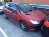 PEUGEOT 206 1.1 STYLE PETROL MANUAL 5 DOOR HATCHBACK 5 SEAT MOT CHEAP INSURANCE N CORSA CLIO POLO KA