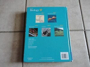 Nelson Biology 12 hardcover textbook London Ontario image 2