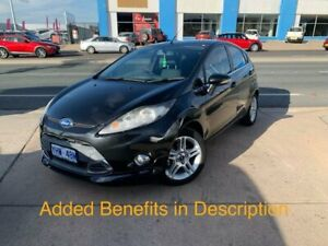 2012 Ford Fiesta WT Zetec Black 5 Speed Manual Hatchback Fyshwick South Canberra Preview