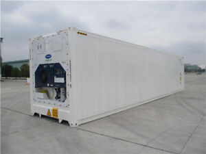 40' High Cube, NEW Refrigerated/Reefer Shipping Containers