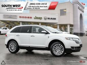 2013 Lincoln MKX | Bluetooth | Leather Seats | Blind Spot Monito
