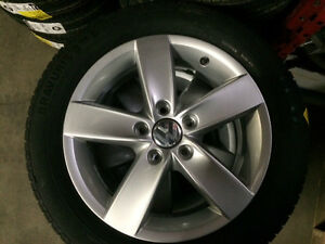 """ON SALE Brand New OEM VW 16"""" installed with Barum summer tires City of Toronto Toronto (GTA) Preview"""