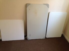 3 Electric Wall Heaters