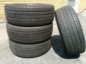 235/55R17 set of 4 Continental Used (inst.bal.incl) 100% tread left