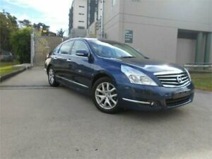 2010 Nissan Maxima J32 250 X-tronic ST-L Blue 6 Speed Constant Variable Sedan Southport Gold Coast City Preview