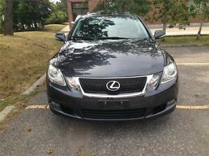 2008 LEXUS GS350 AWD, 1 OWNER, NAVIGATION,LEATHER, CERTIFIED