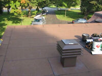 We are offering shingle, flat, and metal roof repair and install