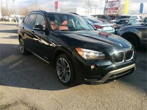 2013 BMW X1 28i, S LINE, 4X4, TOIT PANO, CUIR, MAGS, 4 CYL. 2.0L