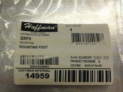 Hoffman Enclosures Qimfk Mounting Foot Kit Internal 14959
