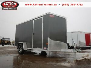 IN STOCK NOW! 6X12 ALL ALUMINUM NEO CARGO -TONS OF UPGRADES!