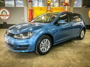2017 Volkswagen Golf AU MY17 92 TSI Trendline Pacific Blue 7 Speed Auto Direct Shift Hatchback Fyshwick South Canberra Preview