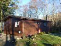 Riverside Wooden Lodge / Holiday Home / Bungalow for Sale