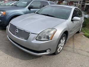 2004 Nissan Maxima SL LEATHER ALLOYS CERTIFIED LOW KM