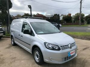 2011 Volkswagen Caddy 2KN MY11 TSI175 Maxi Silver 5 Speed Manual Van Maidstone Maribyrnong Area Preview