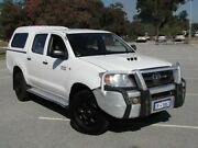 2006 Toyota Hilux KUN26R MY07 SR White 5 Speed Manual Utility Maddington Gosnells Area Preview