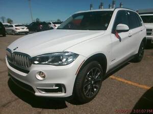 like new, 2016 BMW X5, white on black