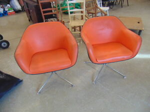 2 Mid Century Tub Chairs by Good Forum