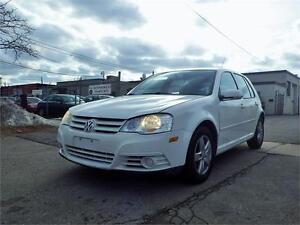 08 VW GOLF 5-SPEED MANUAL! AUX/MP3/CD! CERTIFIED!