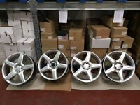 "4 x New AMG III Mercedes 19"" Alloy Wheels 5 Stud"