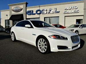 2013 Jaguar XF 3.0L V6 SC AWD NAVIGATION LEATHER SUNROOF