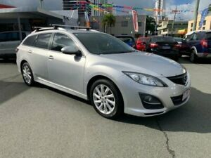 2010 Mazda 6 GH MY10 Classic Silver 5 Speed Auto Activematic Wagon Southport Gold Coast City Preview