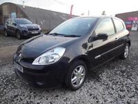 RENAULT CLIO 1.2 16v RIP CURL~07/2007~MANUAL~3 DOOR HATCHBACK~STUNNING BLACK