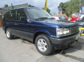 LAND ROVER RANGE ROVER 4.0 COUNTY 5d AUTO 182 BHP (blue) 2001