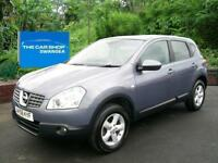 2008 NISSAN QASHQAI 2.0 Acenta ONE LADY OWNER PLUS NISSAN