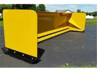 NEW  Pusher Blades 10ft & 12ft at Jensen Trailers