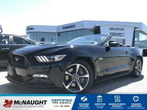 2015 Ford Mustang GT Premium Convertible RWD | 6 Speed Manual