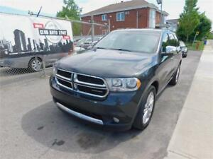 DODGE DURANGO CREW AWD 2011 (AUTOMATIQUE BLUETOOTH)