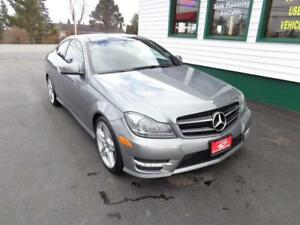 2015 Mercedes-Benz C350 4Matic AMG Package Coupe