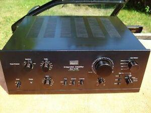 Sansui AU-519 , AU-555a and Sears AM 4658 amps