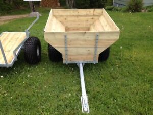 Galvanized ATV Woods Trailer...nst