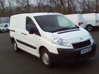 Peugeot Expert L1 1000 1.6 HDI 90bhp H1 Van DIESEL MANUAL WHITE (2014)