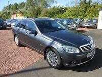 2010 60 MERCEDES-BENZ C CLASS 2.1 C200 CDI BLUEEFFICIENCY ELEGANCE 5D 136 BHP DI