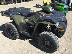 **2016 POLARIS SPORTSMAN 450 (567cc) 4x4** ONLY $65.48 Bi-Weekly