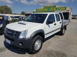 2010 Isuzu D-MAX TF MY10 SX (4x4) 5 Speed Manual Crew Cab Chassis Officer Cardinia Area Preview