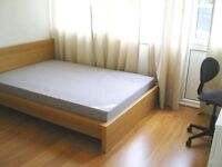 Big single room with double bed in friendly house share available(all bills included).