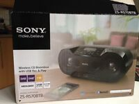 Sony Wireless CD Boombox and DAB Radio