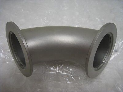 Kf-50 90 Degree Vacuum Foreline Elbow Sst