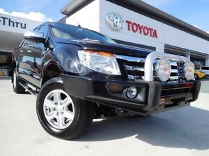 2013 Ford Ranger PX XLT 3.2 (4x4) Black 6 Speed Automatic Dual Cab Utility Greenway Tuggeranong Preview