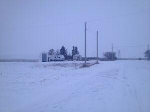 1.6 acres Partially Developed Great Acreage Close to Weyburn