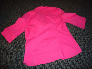 Ladies Size 12 3/4 Sleeve Pink Dress Shirt Kingston Kingston Area image 3