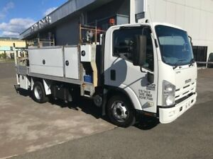 2011 Isuzu NPR400 fitted with service body, tool boxes, power steering, air conditioning, 155hp turb Milperra Bankstown Area Preview