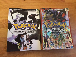Official Pokémon Black/White and Platinum guide!