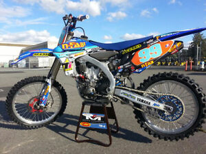 2011 Yamaha YZ450F FULL GYTR CUSTOM RACE BIKE FRESH BUILD